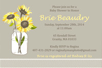 Brie's Baby Shower Invites